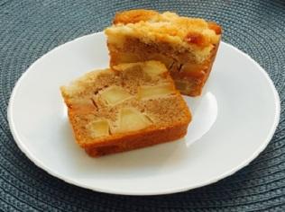 Apple Cinnamon Crumble cube